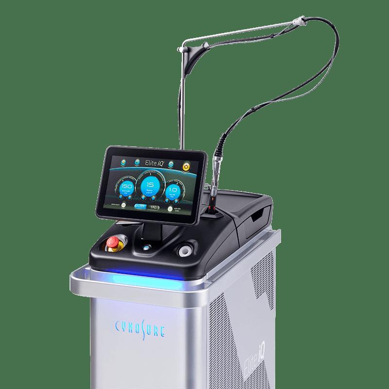 epilazione laser elite iq
